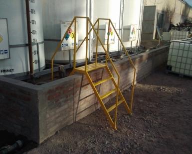 Construccion y montaje planta de preparado de quimicos